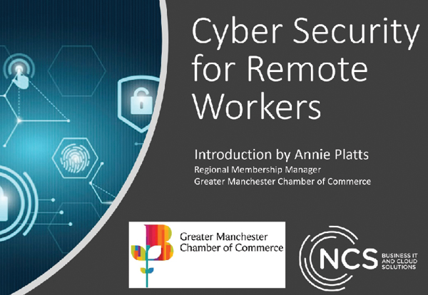 Cyber Security for Remote Workers Webinar Recording