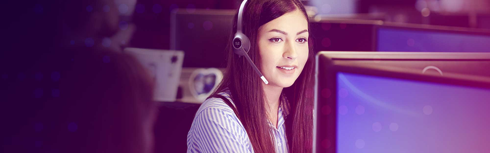 NCS IT helpdesk technician supporting client remotely