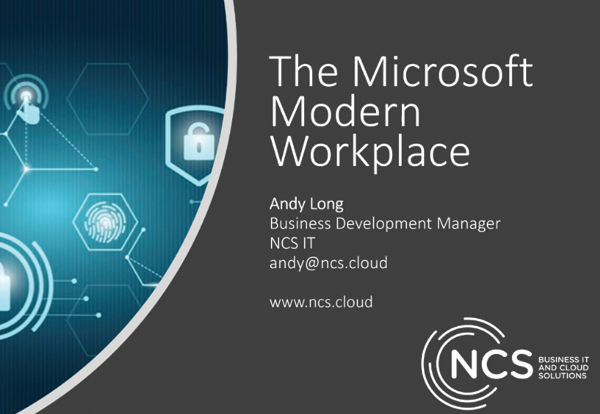 Microsoft Modern Workplace Webinar Recording